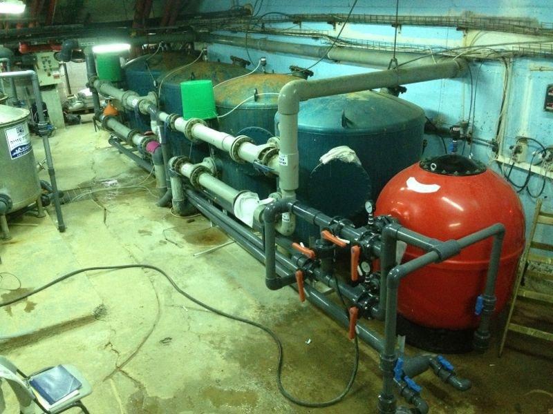 חדרי מכונות לבריכות ציבוריות