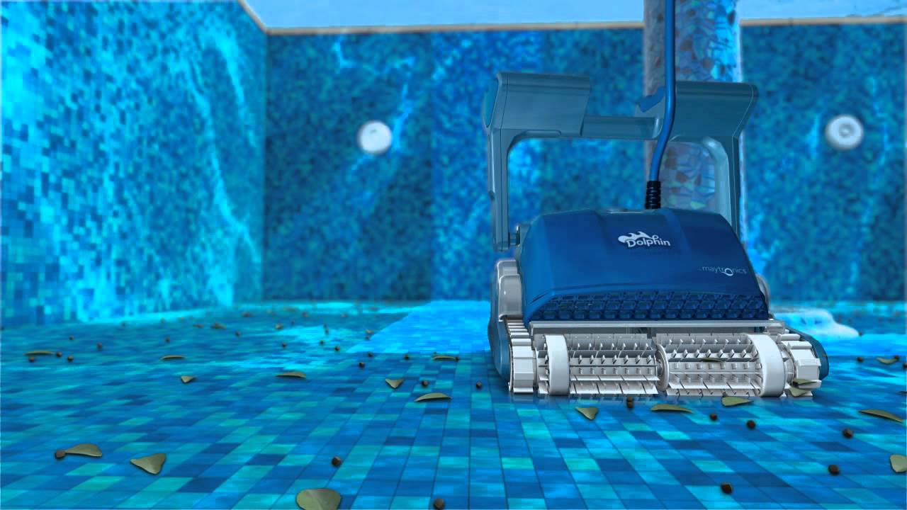 רובוט לניקוי בריכות דולפין SUPREME M5