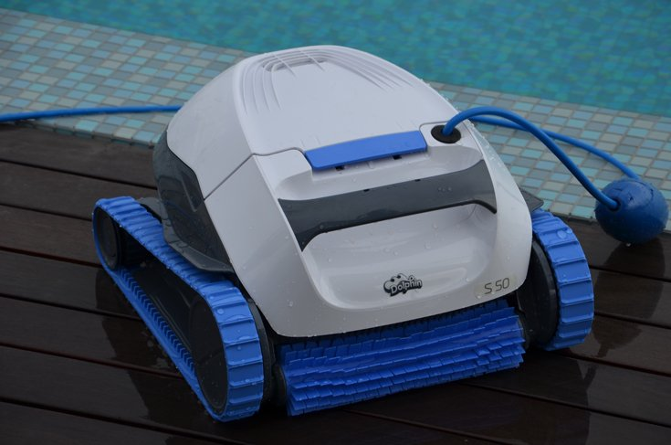 רובוט לניקוי בריכות דולפין S50 7