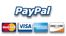 מקבלים כל סוגי כרטיסי האשראי ופייפאל! משלוחים עד הבית בכל הזמנה!
