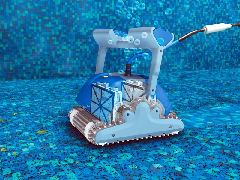 רובוט לניקוי בריכה דולפין SUPREME M4 PRO 9