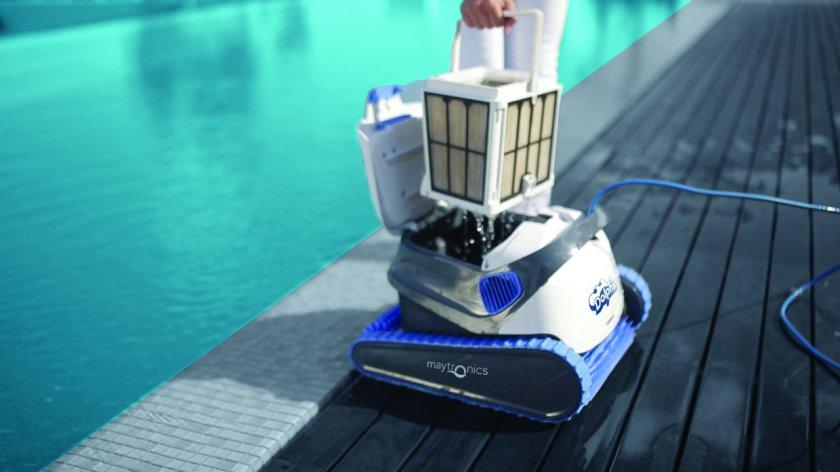 רובוט לניקוי בריכות דולפין S200 4
