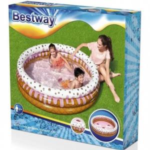בריכת פעוטות מתנפחת בעיצוב קרם גלידה - Bestway 51144